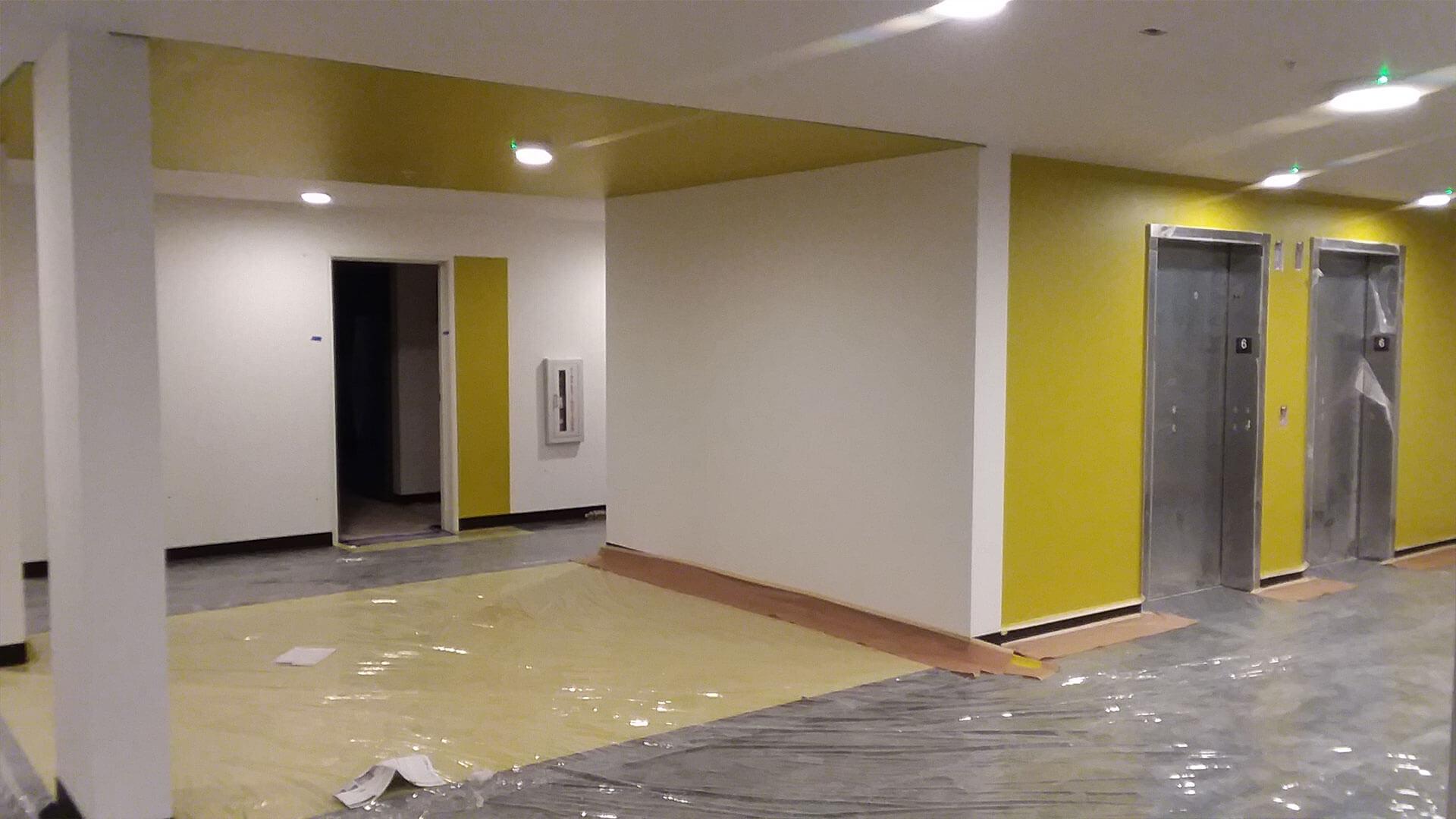 Elevators Under Construction at Stateside Apartments