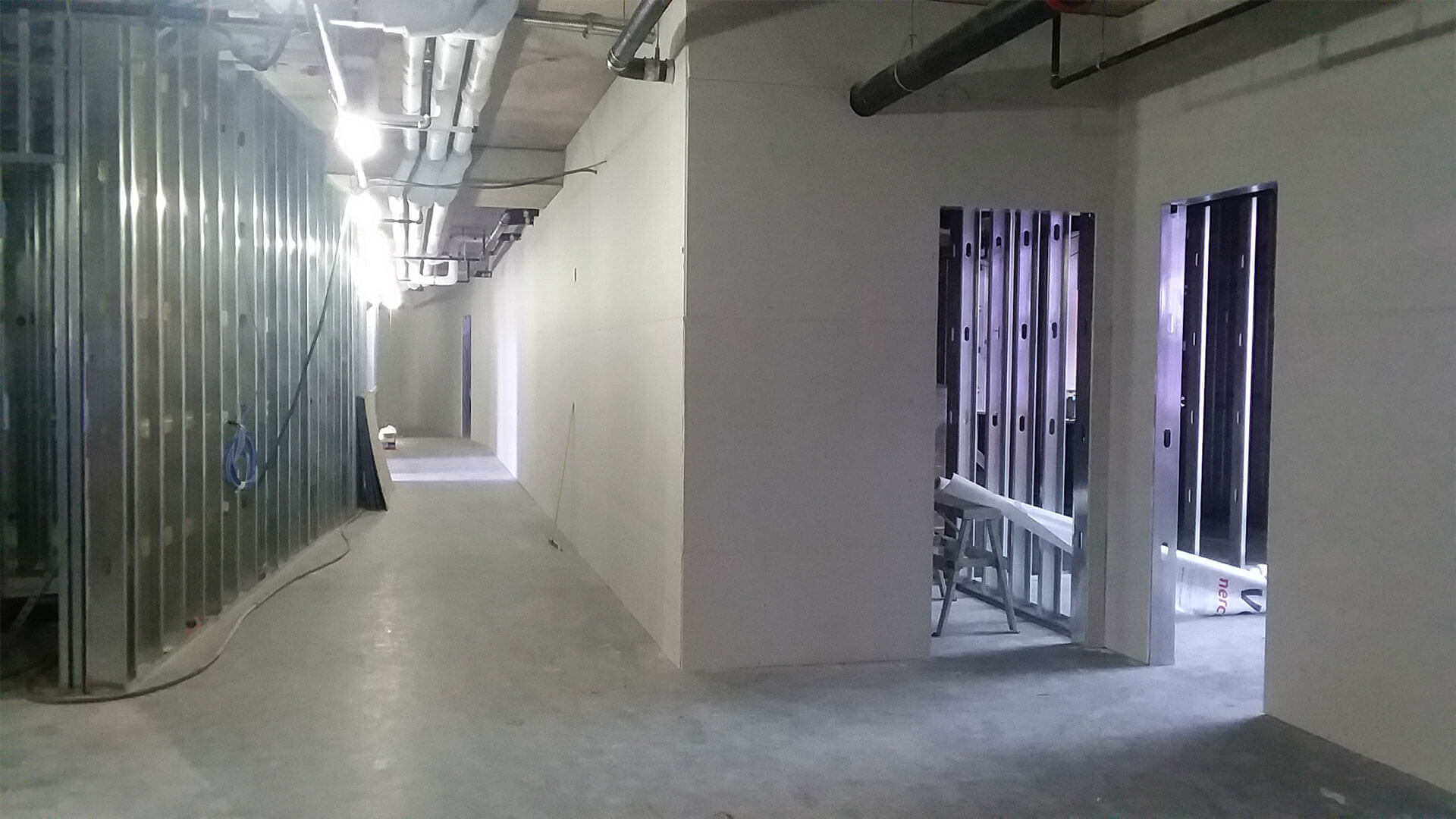 Construction at Stateside Apartments