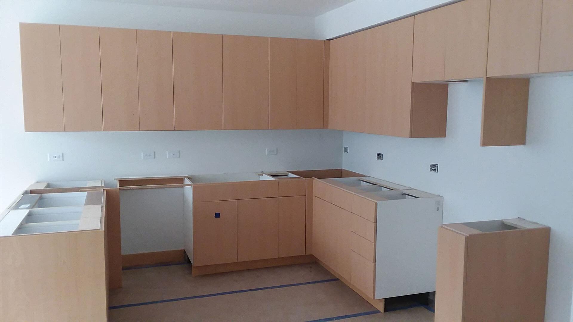 Halfway Built Room at Stateside Apartments