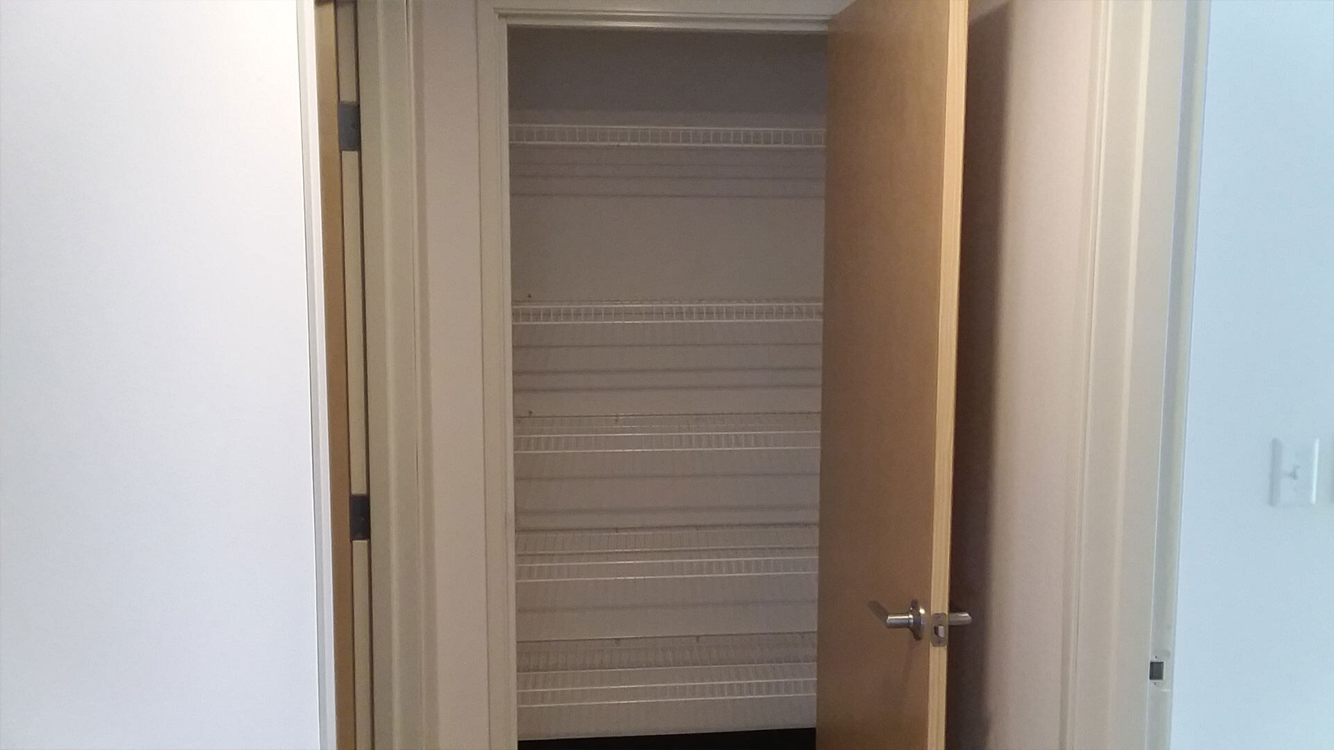 An Empty Closet at Stateside Apartments