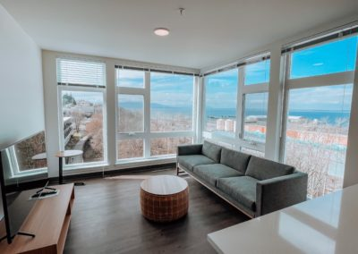 Living Room Area of an Apartment at Stateside