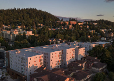 Aerial View of Stateside's Apartments in Bellingham, WA