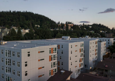 Buildings at Stateside's Apartments in Bellingham, WA